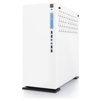Product image of InWin 303 White Mid Tower Chassis RGB Edition - Click for product page of InWin 303 White Mid Tower Chassis RGB Edition