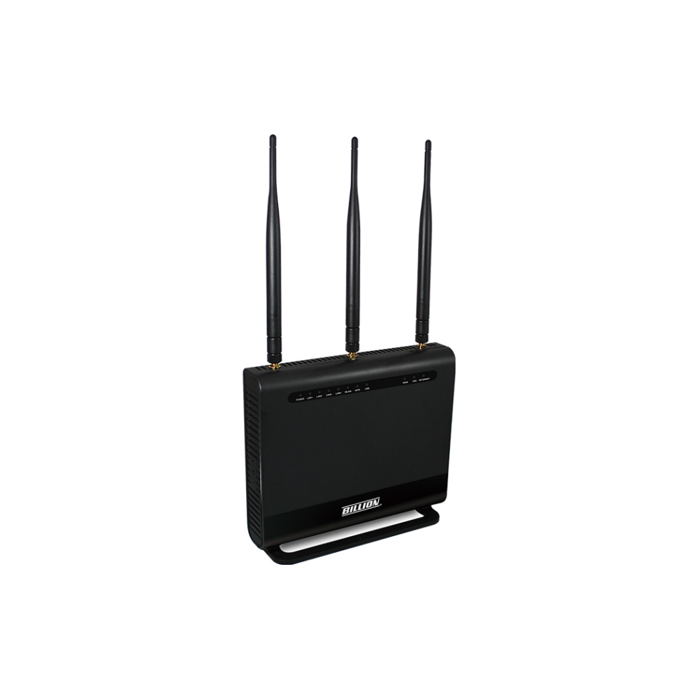 A large main feature product image of Billion BiPAC 8700AXL-1600 Dual-Band Wireless-AC1600 3G/4G LTE and VDSL2/ADSL2+ Firewall Modem Router