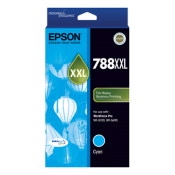 Product image of Epson DURABrite 788XL Cyan Cartridge - Click for product page of Epson DURABrite 788XL Cyan Cartridge