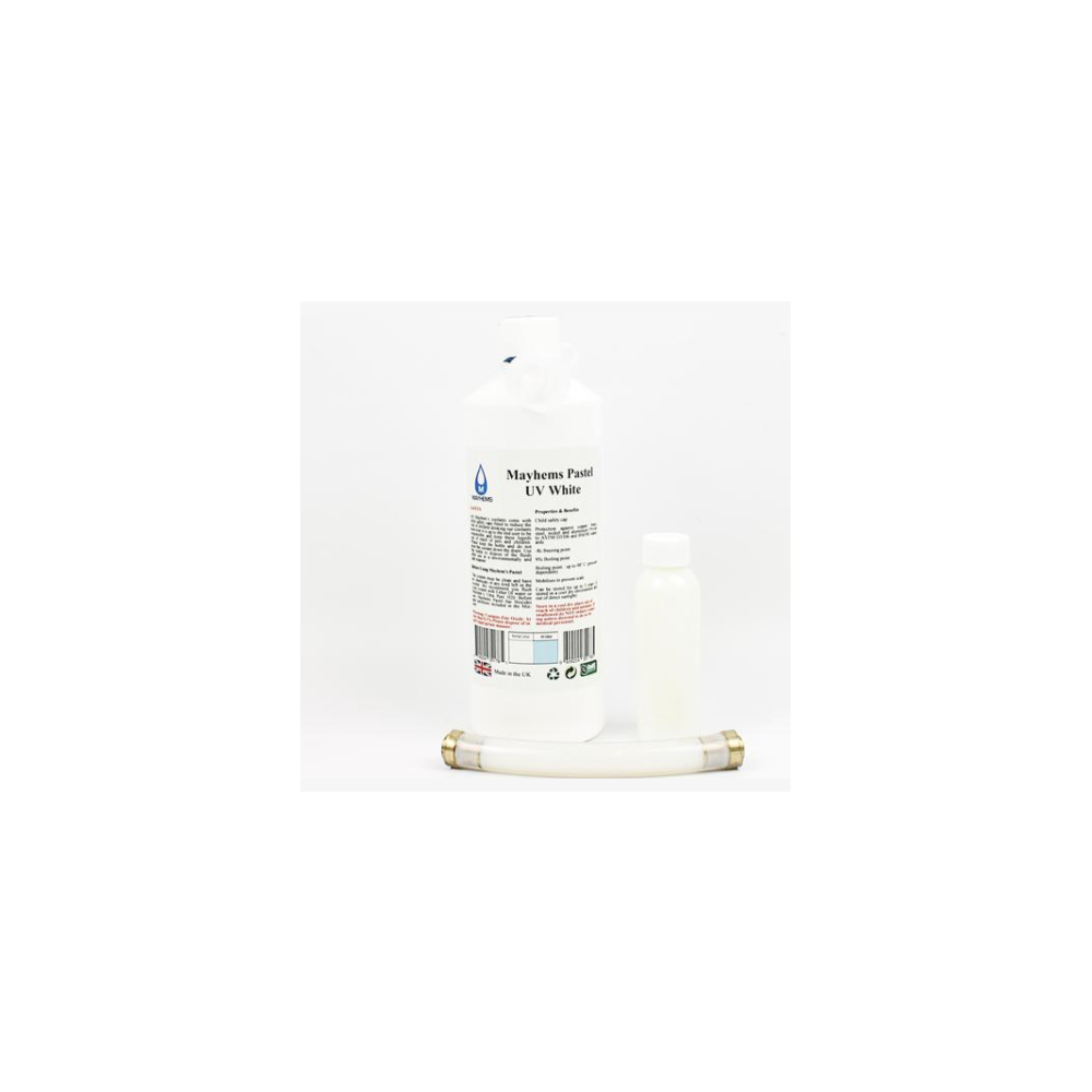 A large main feature product image of Mayhems Pastel UV White 250ml Concentrate