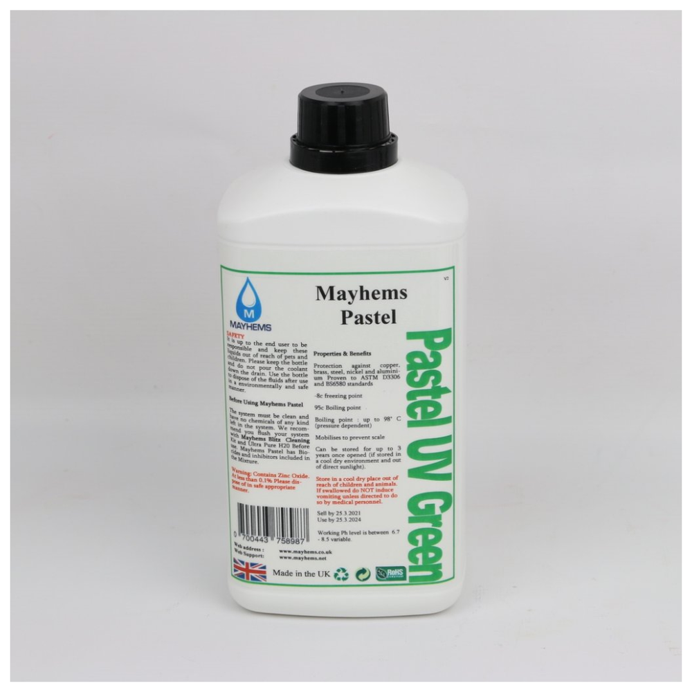 A large main feature product image of Mayhems Pastel UV Green 250ml Concentrate