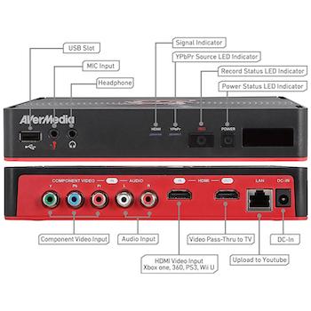 Product image of AVerMedia C285 Game Capture HD II - Click for product page of AVerMedia C285 Game Capture HD II