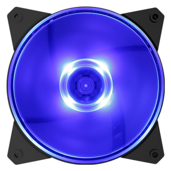 Product image of Cooler Master MasterFan Lite MF120L 120mm Blue LED Fan - Click for product page of Cooler Master MasterFan Lite MF120L 120mm Blue LED Fan