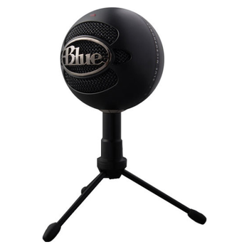 Product image of Blue Microphones Snowball iCE Black USB Microphone - Click for product page of Blue Microphones Snowball iCE Black USB Microphone