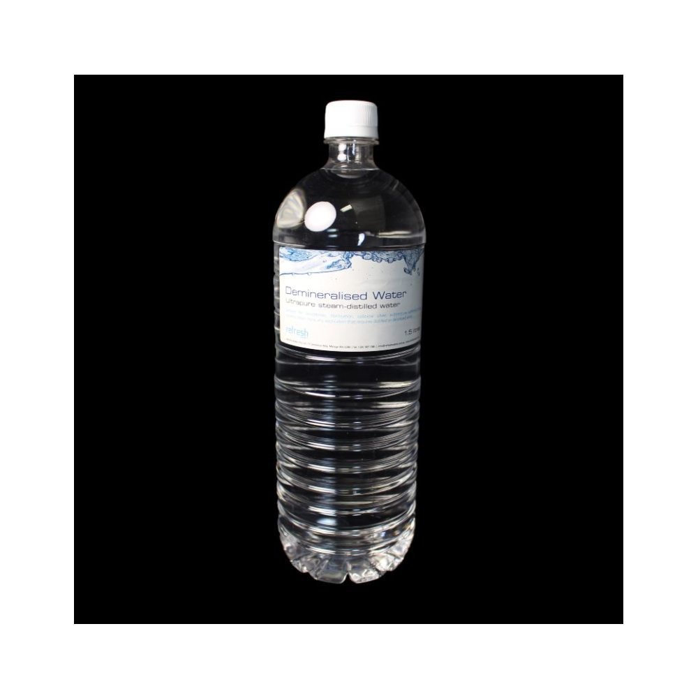 A large main feature product image of Generic Demineralised 1.5L Distilled Water
