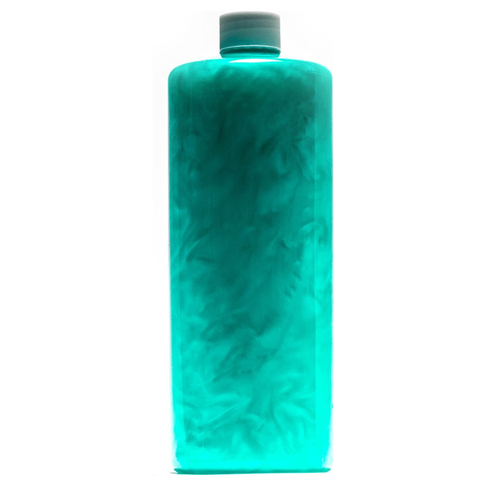 A large main feature product image of PrimoChill Vue Premix Coolant - Teal SX