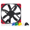 A product image of Noctua NF-S12A PWM Chromax.Black.Swap 120mm 1200RPM Cooling Fan