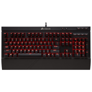 Product image of Corsair Gaming K68 Red Mechanical Keyboard (MX Red Switch) - Click for product page of Corsair Gaming K68 Red Mechanical Keyboard (MX Red Switch)