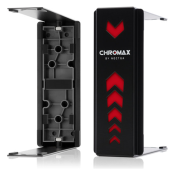 Product image of Noctua NA-HC1 Chromax Swap Heatsink Cover For NH-U12S Black - Click for product page of Noctua NA-HC1 Chromax Swap Heatsink Cover For NH-U12S Black