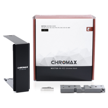 Product image of Noctua NA-HC2 Chromax Heatsink Cover For NH-U12S Black - Click for product page of Noctua NA-HC2 Chromax Heatsink Cover For NH-U12S Black