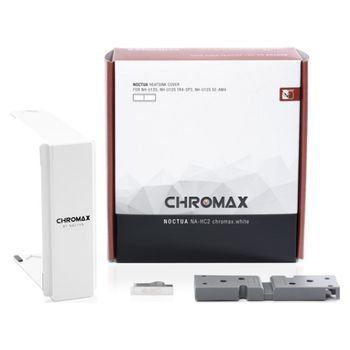 Product image of Noctua NA-HC2 Chromax Heatsink Cover For NH-U12S White - Click for product page of Noctua NA-HC2 Chromax Heatsink Cover For NH-U12S White