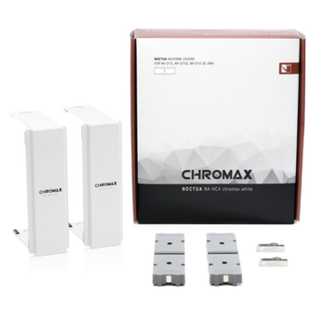 Product image of Noctua NA-HC4 Chromax Heatsink Cover For NH-D15 White - Click for product page of Noctua NA-HC4 Chromax Heatsink Cover For NH-D15 White