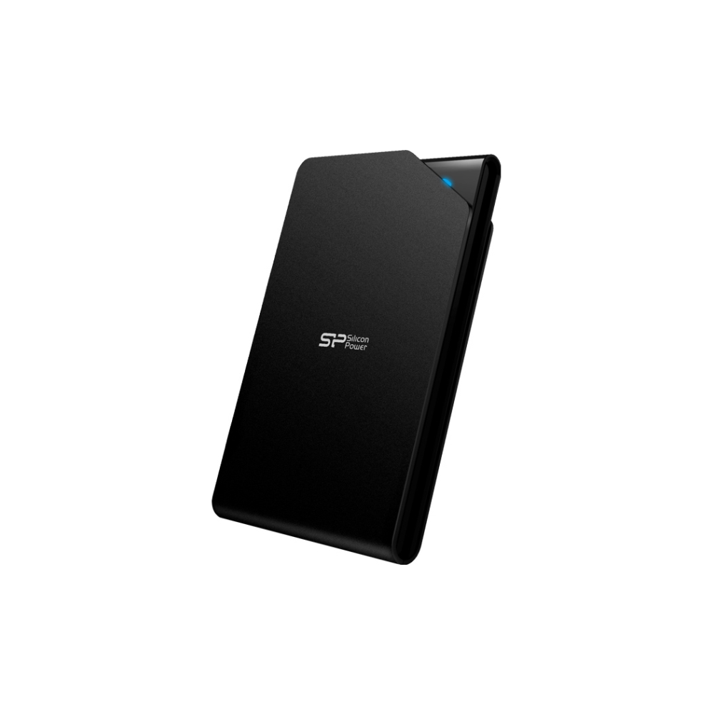 A large main feature product image of Silicon Power Stream S03 1TB USB3.0 External Hard Drive