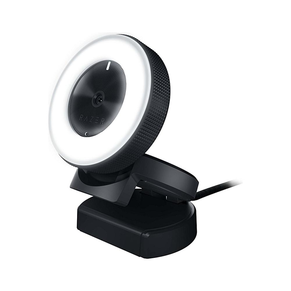 A large main feature product image of Razer Kiyo Desktop Streaming Camera