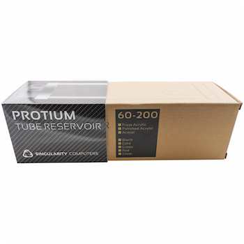 Product image of Singularity Protium Medium 200mm Reservoir - Polished Black - Click for product page of Singularity Protium Medium 200mm Reservoir - Polished Black