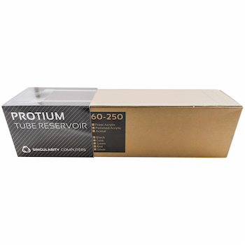 Product image of Singularity Protium Large 250mm Reservoir - Polished Black - Click for product page of Singularity Protium Large 250mm Reservoir - Polished Black
