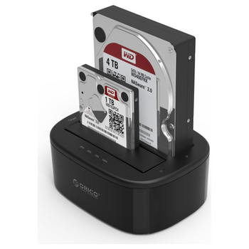 Product image of ORICO 2.5/3.5in USB3.0 1 to 1 Clone Dual-bay HDD and SSD Hard Drive Dock - Click for product page of ORICO 2.5/3.5in USB3.0 1 to 1 Clone Dual-bay HDD and SSD Hard Drive Dock