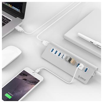 Product image of ORICO Aluminium 10 Port USB3.0 Hub  - Click for product page of ORICO Aluminium 10 Port USB3.0 Hub
