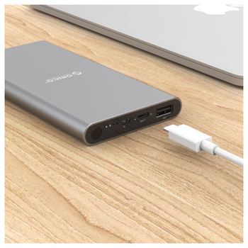 Product image of ORICO T1 10000mAh USB Type-C & Type-A Power Bank - Click for product page of ORICO T1 10000mAh USB Type-C & Type-A Power Bank