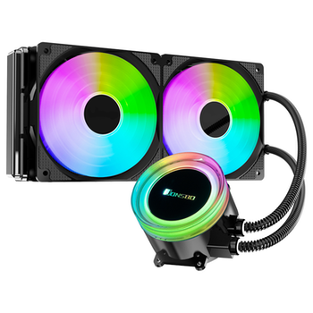 Product image of Jonsbo Angel Eye TW2 240mm 501 Edition RGB LED AIO CPU Liquid Cooler - Click for product page of Jonsbo Angel Eye TW2 240mm 501 Edition RGB LED AIO CPU Liquid Cooler