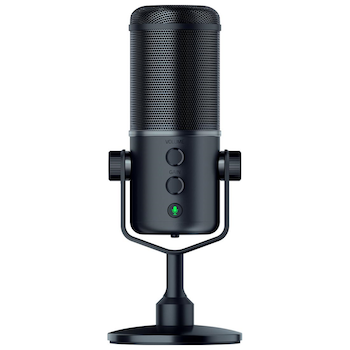 Product image of Razer Seiren Elite V2 Digital USB Desktop Microphone - Click for product page of Razer Seiren Elite V2 Digital USB Desktop Microphone