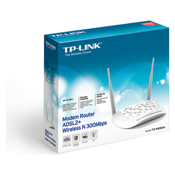 Product image of TP-LINK W8961N N300 Wireless ADSL2+ Modem Router - Click for product page of TP-LINK W8961N N300 Wireless ADSL2+ Modem Router