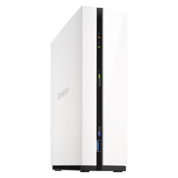 Product image of QNAP TS-128A 1.4GHz 1GB Single Bay NAS Enclosure - Click for product page of QNAP TS-128A 1.4GHz 1GB Single Bay NAS Enclosure