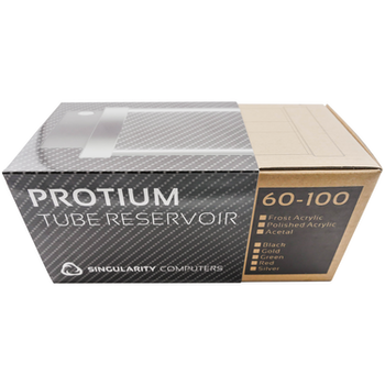 Product image of Singularity Protium Small 100mm Reservoir - Acetyl Black - Click for product page of Singularity Protium Small 100mm Reservoir - Acetyl Black