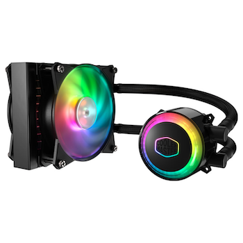 Product image of Cooler Master MasterLiquid ML120R Addressable RGB AIO Liquid Cooler - Click for product page of Cooler Master MasterLiquid ML120R Addressable RGB AIO Liquid Cooler