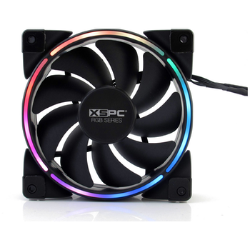 Product image of XSPC Addressable RGB Series 120mm PWM Fan - Click for product page of XSPC Addressable RGB Series 120mm PWM Fan