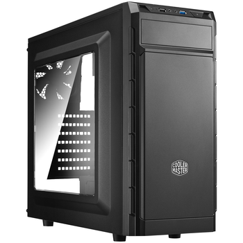 Product image of Cooler Master CMP501 Black Mid Tower Case w/Side Panel Window & 600W PSU - Click for product page of Cooler Master CMP501 Black Mid Tower Case w/Side Panel Window & 600W PSU