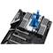 A small tile product image of EK FB MSI X399 GAMING RGB Monoblock - Nickel