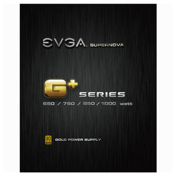 Product image of eVGA SuperNOVA G1+ 750W Fully Modular 80PLUS Gold Power Supply - Click for product page of eVGA SuperNOVA G1+ 750W Fully Modular 80PLUS Gold Power Supply