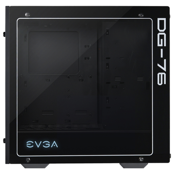 eVGA DG-76 Matte Black w/ Tempered Glass RGB Mid Tower Case
