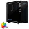 A product image of eVGA DG-77 Matte Black w/ Tempered Glass RGB Mid Tower