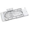 A product image of EK FC Titan V Plexi/Nickel Nvidia GPU Waterblock