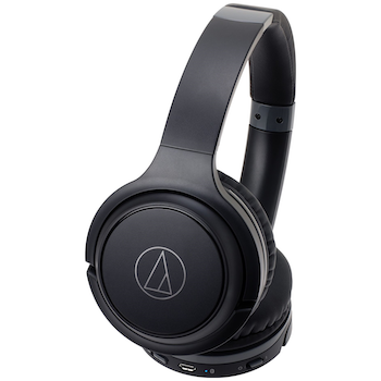 Product image of Audio Technica ATH-S200BT Bluetooth Over-Ear Headphones - Click for product page of Audio Technica ATH-S200BT Bluetooth Over-Ear Headphones