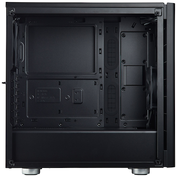 Product image of Corsair Carbide 275R Black Mid Tower Case w/Tempered Glass Side Panel - Click for product page of Corsair Carbide 275R Black Mid Tower Case w/Tempered Glass Side Panel