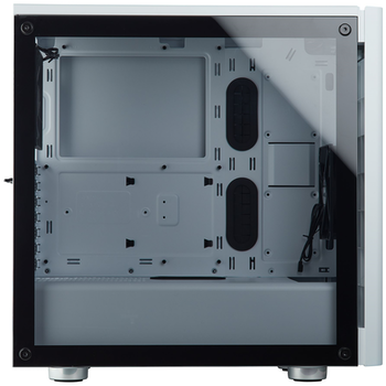 Product image of Corsair Carbide 275R White Mid Tower Case w/Tempered Glass Side Panel - Click for product page of Corsair Carbide 275R White Mid Tower Case w/Tempered Glass Side Panel