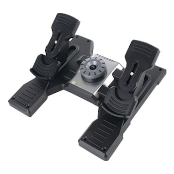 Product image of Logitech Flight Rudder Pedals - Click for product page of Logitech Flight Rudder Pedals