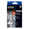 A product image of Epson DURABrite Ultra 252XL High Capacity Black Cartridge