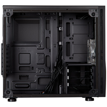 Product image of Corsair Carbide SPEC-05 Black Mid Tower Case w/Side Panel Window - Click for product page of Corsair Carbide SPEC-05 Black Mid Tower Case w/Side Panel Window