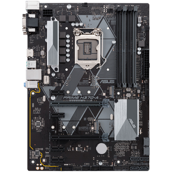 Product image of ASUS PRIME H370-A LGA1151-CL ATX Desktop Motherboard - Click for product page of ASUS PRIME H370-A LGA1151-CL ATX Desktop Motherboard