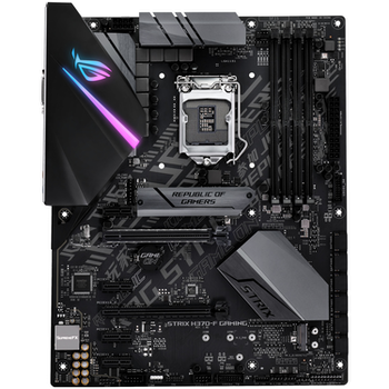 Product image of ASUS ROG Strix H370-F Gaming LGA1151-CL ATX Desktop Motherboard - Click for product page of ASUS ROG Strix H370-F Gaming LGA1151-CL ATX Desktop Motherboard