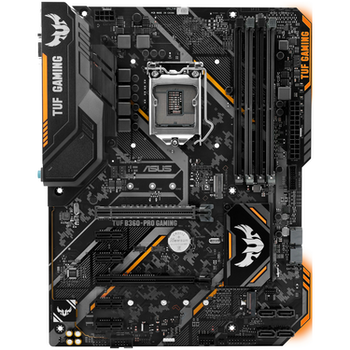 Product image of ASUS TUF B360-PRO Gaming LGA1151-CL ATX Desktop Motherboard - Click for product page of ASUS TUF B360-PRO Gaming LGA1151-CL ATX Desktop Motherboard