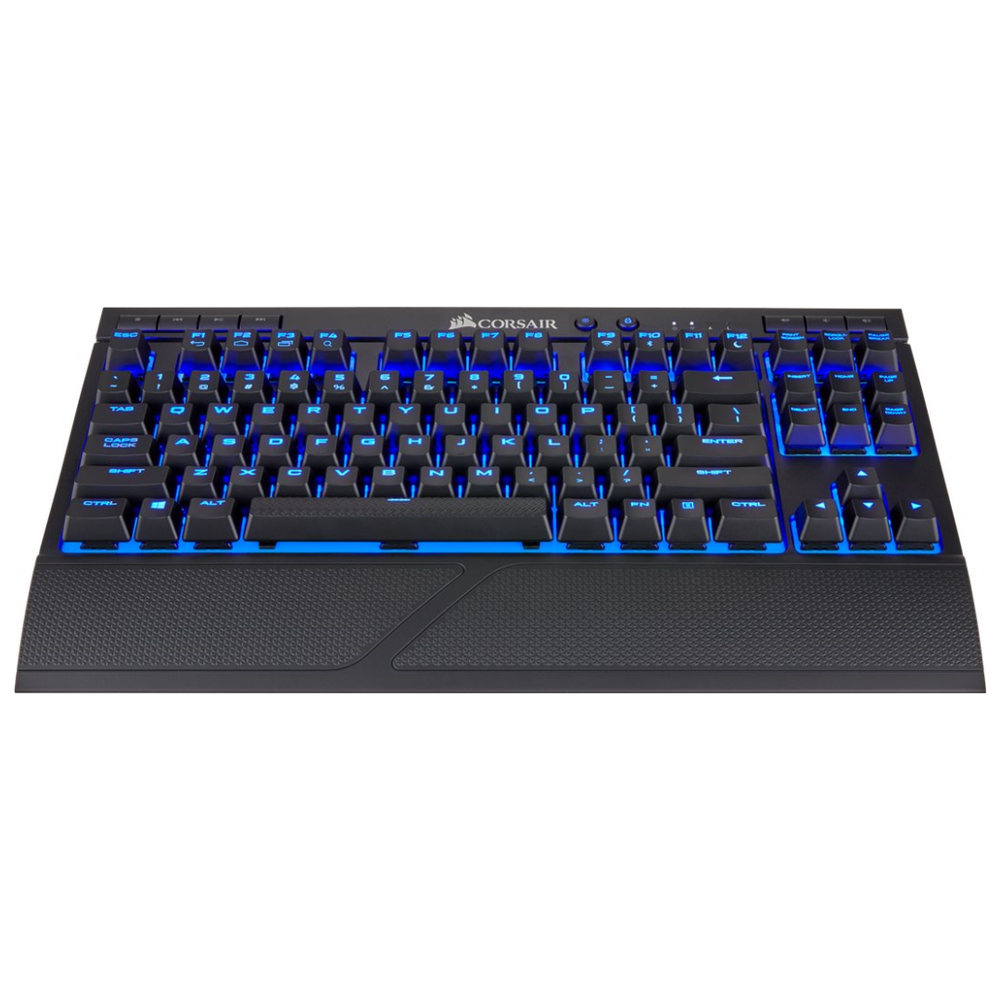 A large main feature product image of Corsair Gaming K63 Wireless Mechanical Keyboard (MX Red Switches)