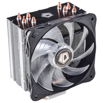 Product image of ID-COOLING Sweden Series SE-214L-W White LED CPU Cooler - Click for product page of ID-COOLING Sweden Series SE-214L-W White LED CPU Cooler