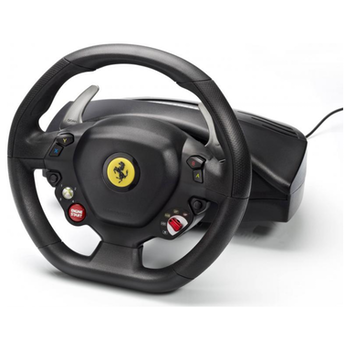 Product image of Thrustmaster Ferrari 458 Italia Racing Wheel For PC & Xbox360 - Click for product page of Thrustmaster Ferrari 458 Italia Racing Wheel For PC & Xbox360