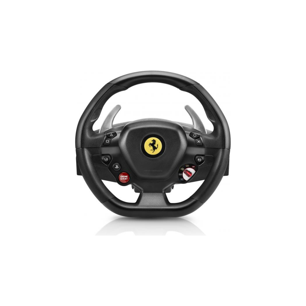 A large main feature product image of Thrustmaster T80 Ferrari 488 GTB Edition Racing Wheel For PC & PS4