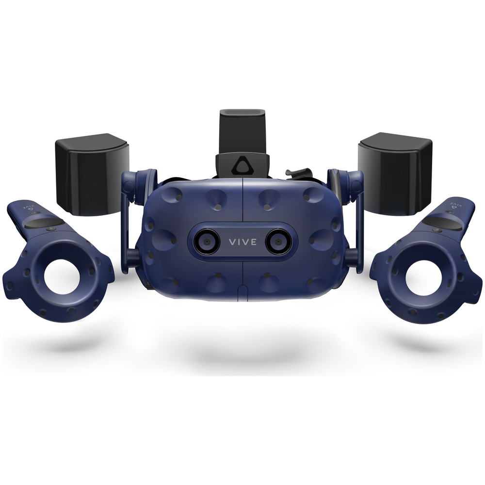 A large main feature product image of HTC VIVE Pro VR Headset Kit